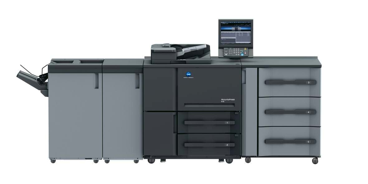 Konica Minolta accurio press 6136 professional printer