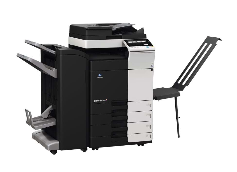 Konica Minolta bizhub c368 office printer